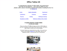 Tablet Preview of office-tables.co.uk